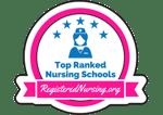Top Ranked RN Program Badge Small