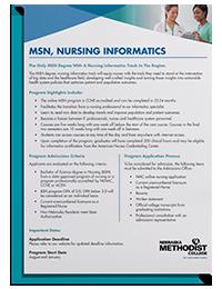 MSN Nursing Informatics Degree Guide