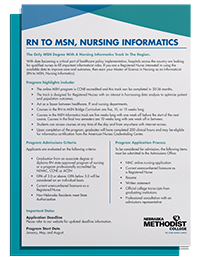 RN to MSN Nursing Informatics Degree Guide